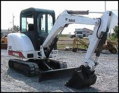 Rental store for EXCAVATOR, MINI - BOBCAT 331 in Vancouver BC
