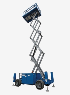 Rental store for SCISSOR LIFT, 33 DECK HGT, ROUGH TERRAIN in Vancouver BC